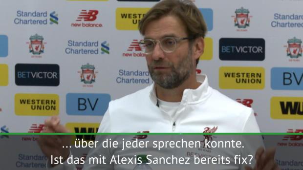 """Klopp: """"Sanchez macht für jedes Team Sinn"""""""