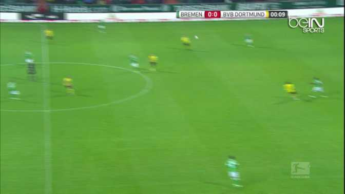 Bundes : Werder 2-1 Dortmund