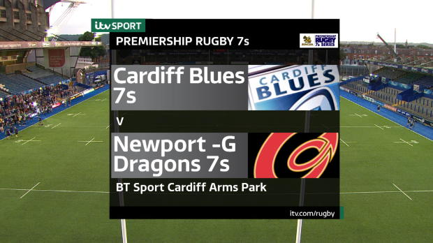 Aviva Premiership - Match Highlights - Cardiff Blues 7s v Newport-G Dragons 7s