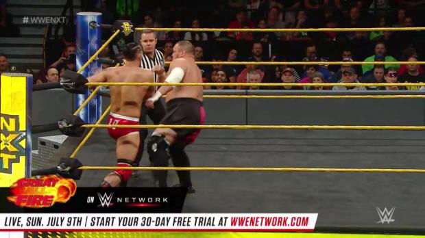 Tye Dillinger vs. Samoa Joe: WWE NXT, Nov. 30, 2016 (Full Match - WWE Network Exclusive)