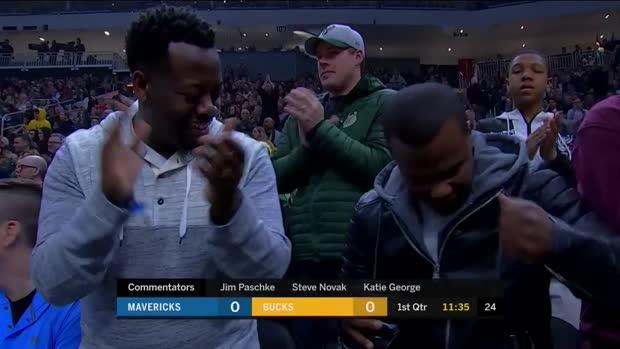 WSC: Giannis Antetokounmpo (31 points) Highlights vs. Dallas Mavericks