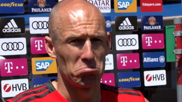 """Robben historisch fit: """"Toi, toi, toi"""""""