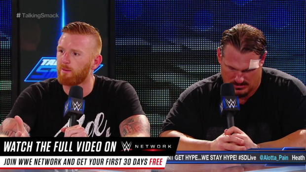 Health Slater and Rhyno get personal ... well sort of: WWE Talking Smack, Aug. 30, 2016
