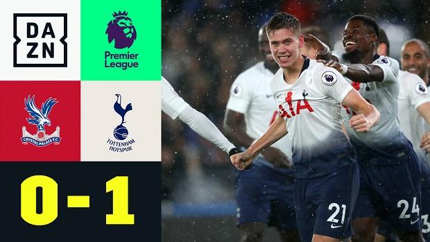 Premier League: Crystal Palace - Tottenham   DAZN Highlights