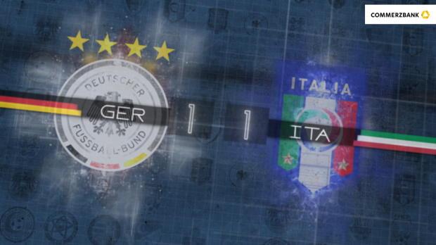 Fünf Fakten nach Deutschland gegen Italien