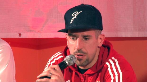 """Ribery: """"Sind glücklich, dass Jupp zurück ist"""""""