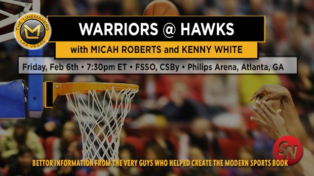 Golden State Warriors at Atlanta Hawks