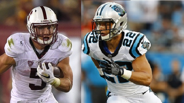 Christian McCaffrey morphs from Stanford stud to Panthers prodigy