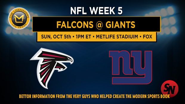 Atlanta Falcons @ New York Giants
