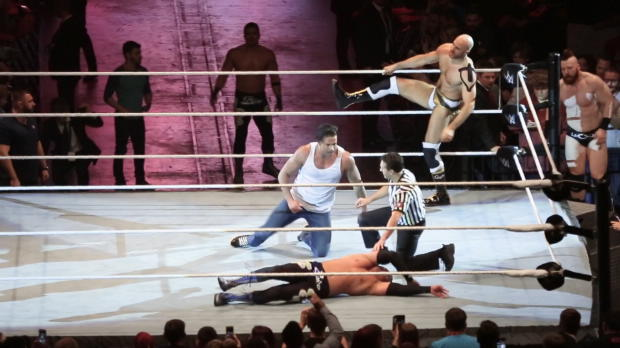 WWE: Wiese on fire! Highlights vom Debüt-Match