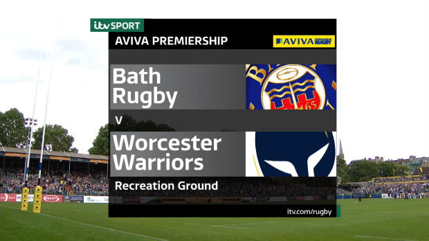 Aviva Premiership - Match Highlights - Bath Rugby v Worcester Warriors
