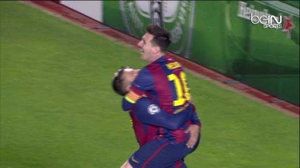 Le triplé de Messi en VO
