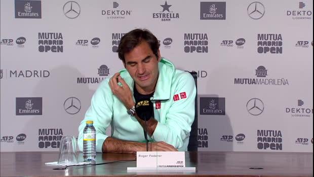 """Madrid: Federer: """"Keine großen Erwartungen"""""""