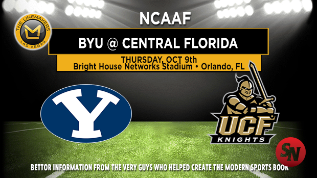 BYU Cougars @ Central Florida Knights