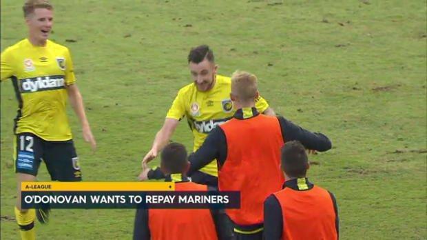 O'Donovan wants to repay Mariners