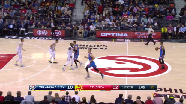 WSC: Russell Westbrook posts 32 points, 12 assists & 13 rebounds vs. the Hawks