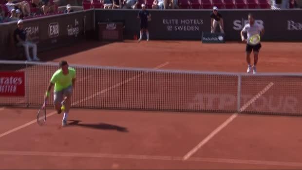 Tennis : Bastad - Le réflexe stratosphérique de Gasquet pour faire basculer le match