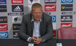 Josep Gombau delighted with his side's performance after a fantastic showing against Sydney FC