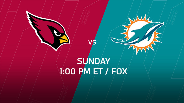Week 14 Game Preview: Cardinals vs. Dolphins