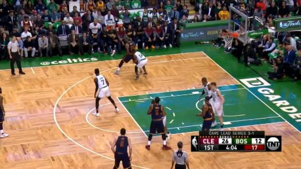 فيرال: كرة السلة: ليبرون يقود كافز للنهائي بمواجهة ووريورز للمرة الثالثة تواليا