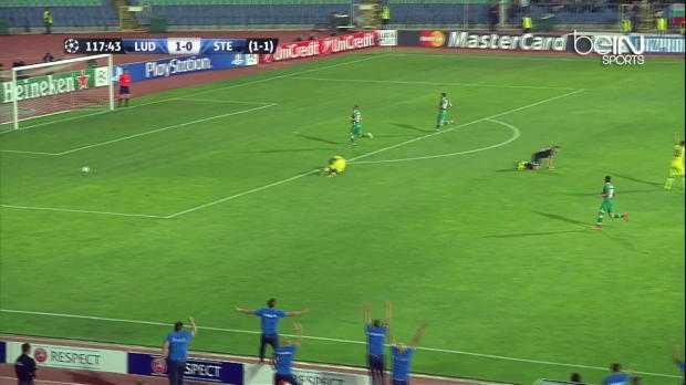 Ludogorets : Un défenseur arrête deux penalties