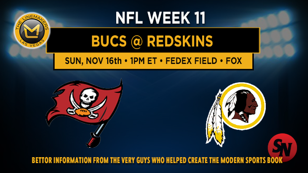 Tampa Bay Buccaneers @ Washington Redskins