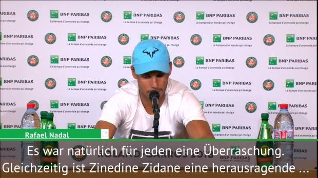 """Nadal zu Zidane-Aus: """"Schwierig zu akzeptieren"""""""