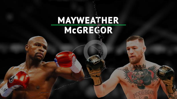 BOXEN: Mayweather vs. McGregor im Wortgefecht