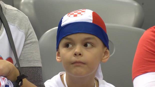 Davis Cup: Kroatien - Spanien, Tag 2