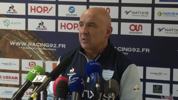 Top 14 - Racing 92 : Travers : 'On est toujours debout'