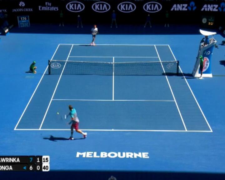 لقطة: استراليا المفتوحة: فافرينكا يفوز بضربة خلفية كلاسيكية