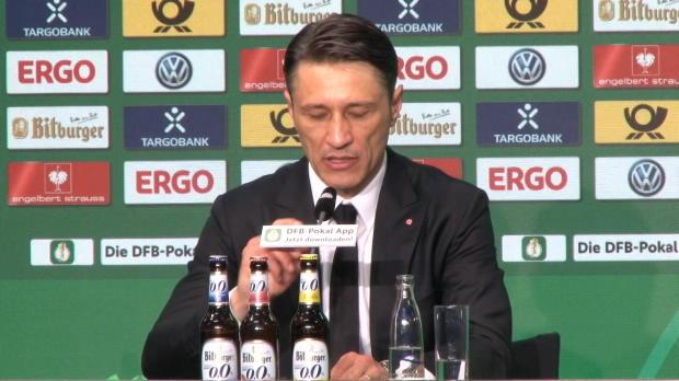 """Kovac fordert Bescheidenheit: """"Mal inne halten"""""""