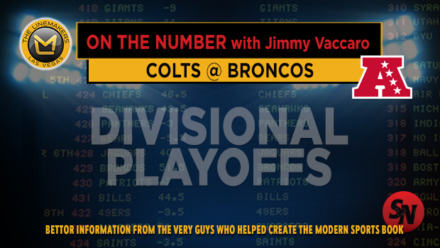 Jimmy V on Colts @ Broncos