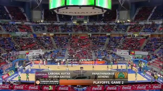 Highlights: Laboral Kutxa Vitoria-Panathinaikos Athens
