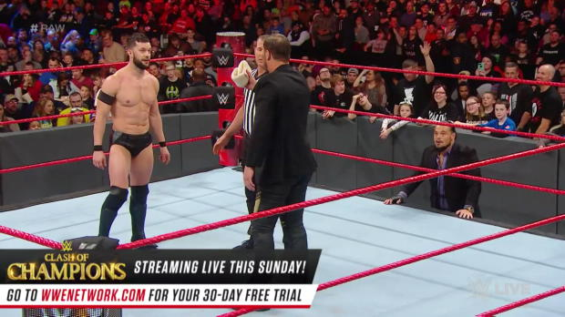 Finn Bálor vs. Curtis Axel: Raw, Dec. 11, 2017