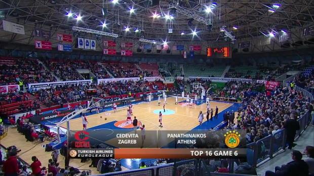 Highlights-Cedevita-Zagreb-Panathinaikos-Athens