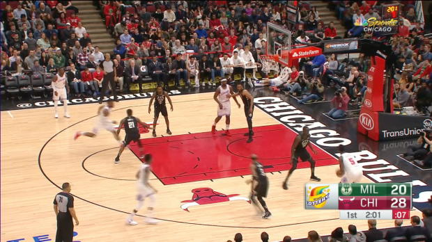 GAME RECAP: Bucks 118, Bulls 105