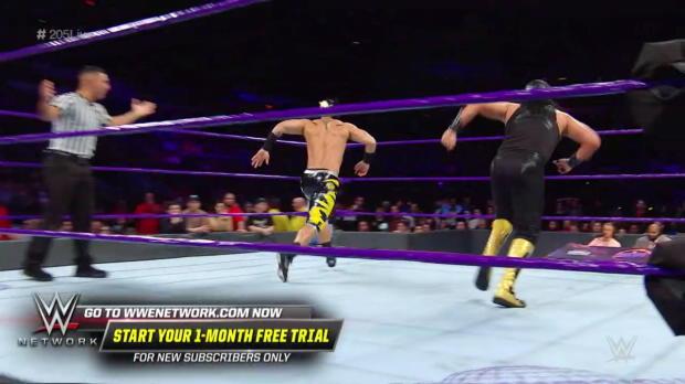 Lince Dorado & Gran Metalik vs. Hideo Itami & Akira Tozawa - Tornado Tag Team Match: WWE 205 Live, April 17, 2018