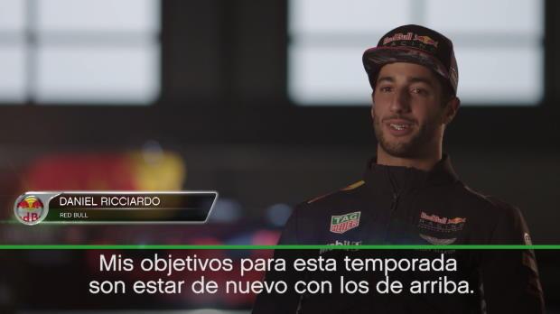 """Ricciardo: """"Quiero pelear por el título"""""""
