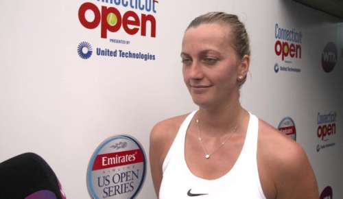 Kvitova Interview: WTA New Haven QF