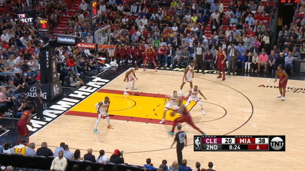 Block of the Night: Dwyane Wade