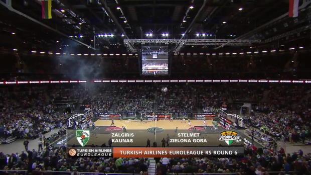 Highlights: Zalgiris Kaunas-Stelmet Zielona Gora