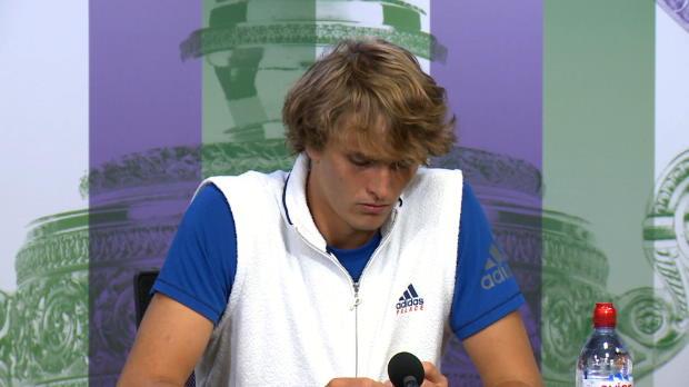 """Wimbledon: Zverev: """"Turniersieg das große Ziel"""""""