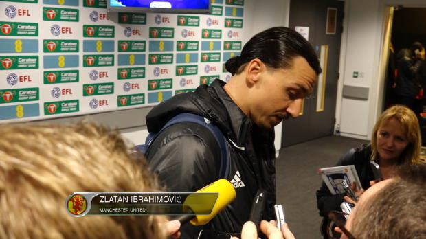 EFL-Cup: Ibrahimovic schießt gegen Kritiker