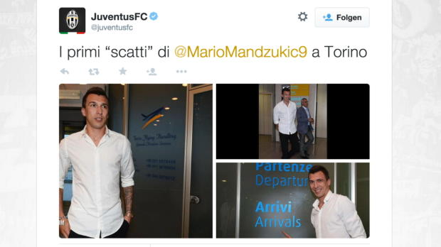 Fix! Mandzukic folgt Khedira zu Juve