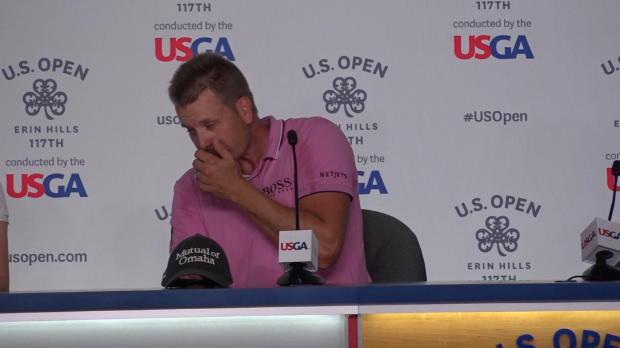 US Open: Stensons Niesanfall sorgt für Lacher