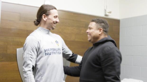 Ibrahimovic trifft sein Idol Ronaldo