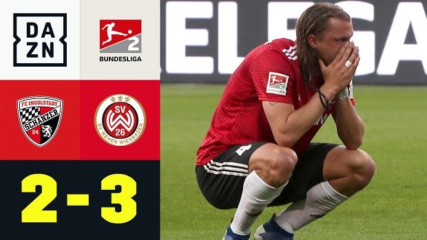 Relegation: FC Ingolstadt 04 - SV Wehen Wiesbaden   DAZN Highlights