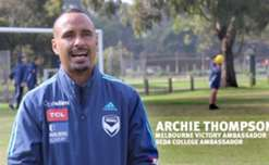 Archie Thompson talks about Melbourne Victory's partnership with SEDA.