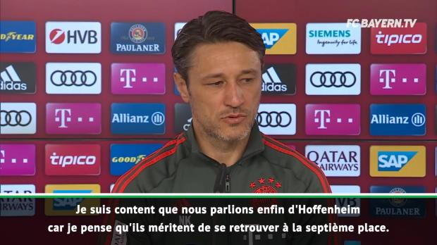 Bayern - Kovac se méfie de cette équipe 'très dangereuse' d'Hoffenheim